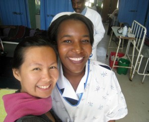Yiling and midwife